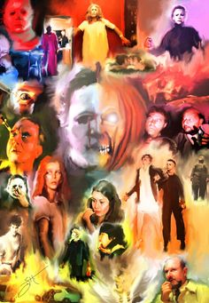 Halloween 2 1981 by TransformativeArtist on Etsy, $50.00
