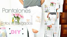 PANTALONES  ROTOS | RIPPED JEANS | GeloGabry - YouTube