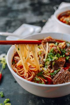 The mighty Nu Rou Mian (Beef Noodle) that always reminds me of those good times in China!