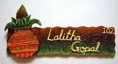 37 Awesome wooden name plates images