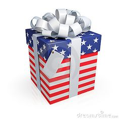 American gift box.