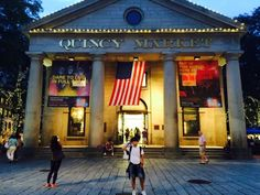 Omg l really love this place! U can go shopping or eat some delicious food! It was beautiful at night. If I travel Boston again, I will go Quincy Market again!