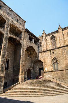 Saló del Tinell, Plaça del Rei - Barri Gòtic - Barcelona