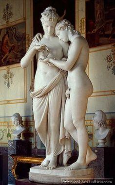 Antonio Canova - Amore e Psiche stanti (San Pietroburgo, Ermitage, 1800-03).jpg