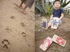Animal Footprint Sandals