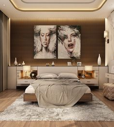 """Check out this project: """"Modern Master Bedroom With Living Area - Qatar. - Home Decor Design Modern Luxury Bedroom, Luxury Bedroom Design, Master Bedroom Interior, Modern Master Bedroom, Home Room Design, Master Bedroom Design, Luxury Home Decor, Contemporary Bedroom, Luxurious Bedrooms"""
