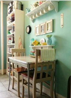 Love the color of the walls!!