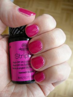 Striplac Fantasy Island (2 coats + tiny stripe of CC Light - VERY close to 51 Love Secret - difficult to photograph - pops better in real life, just don't make the coats to thick otherwise it's a darker pink) #striplac