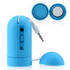 Mini Vibration Blue Smartphone Speaker #vibration #black #smartphone #speaker #cellz.com $17.81 Smartphone, Best Speakers, Mini, Accessories, Jewelry Accessories