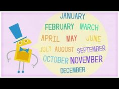 """▶ Time: """"Twelve Months of the Year"""" by StoryBots - YouTube"""