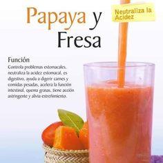 En estas fiestas aliméntate sano hoy te recomendamos el jugo de papaya y fresa estos son algunos de sus beneficios: Controla problemas estomacales neutraliza la acidez estomacal es digestivo ayuda a digerir acelera la función intestinal quema grasas alivia el estreñimiento entre otras. Volvemos el Martes 17 de noviembre para que entrenes con nuestro #emstraining para obtener más resultados en menos tiempo en #Cartagena #fit #Fitness #sano #salud #saludable #healthy #smoothie #batido #gym…
