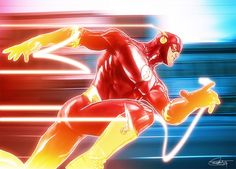 The Flash by DanielMurrayART on DeviantArt