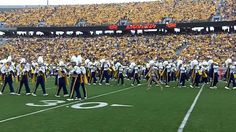 2011 WVU Marching band pregame show:  Boogie Cadence, Fight Mountaineers...