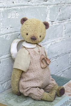 OOAK Artists Teddy Bear pattern teddy pattern teddy bear