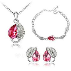 Jewelry - $49.99 - Elegant Alloy With Crystal Women's Jewelry Sets (011036515) http://jjshouse.com/Elegant-Alloy-With-Crystal-Women-S-Jewelry-Sets-011036515-g36515