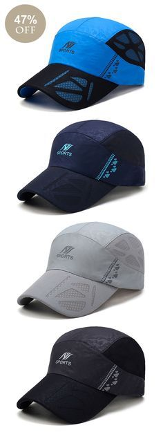 Men Ultra-thin Breathable Quick-drying Mesh Baseball Cap  outdoor  casual   780f9ad0eca