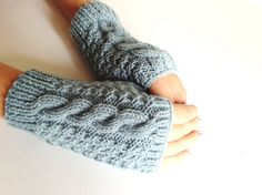 Fingerless gloves  Fingerless Mittens  Hand by LaVieBoeretroos, $15.00
