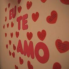 Vocês pediram e está aí. Mais alguns detalhes da surpresa que o leitor Osmar fez para a namorada!❤️ #blognamoradacriativa