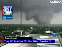 1 year anniversary of Tuscaloosa, Alabama tornado April 27, 2011.  Remembering all those who were affected.