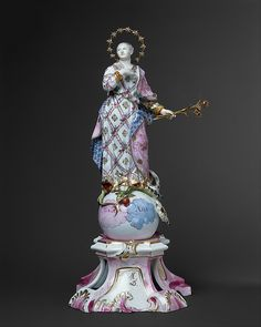 Virgin of the Immaculate Conception, ca. Fulda Pottery and Porcelain Manufactory. Metropolitan Museum of Art. Factory Records, Maker Culture, Immaculate Conception, Religious Art, Our Lady, Metropolitan Museum, Art History, Madonna, Pottery