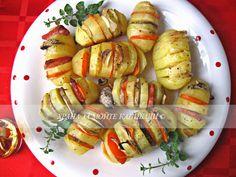 Храна за мойте канибали: Печени картофи с чесън, или шарено казано :) Карто...