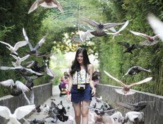 From @angelaapm .  ɪ ᴊᴜsᴛ ᴡᴀɴᴛ ᴛo ʙᴇ ʜᴀᴘᴘʏ . Taken at Batu Secret Zoo Kota Wisata Batu