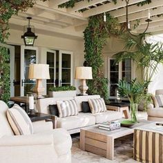 Fabulous Outdoor Living Room. Cassandre & Quentin