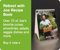 Reboot With Joe Recipe Book. (from fat,sick and nearly dead)Everything you need to know about juice fasting!!