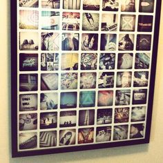 This website can make all sorts of prints and projects out of your instagram photos! SWEET!!  Printstagram - Poster