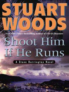 Click this cover for a(n) eBook sample of Shoot Him If He Runs.