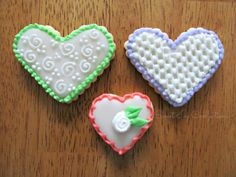 Sweet Ivy Confections....Valentine Cookies