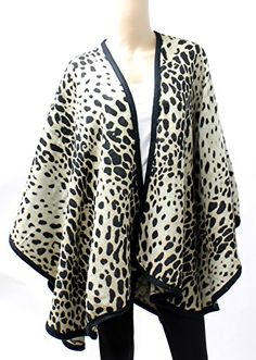 Roar! Bring out your wild side with this printed poncho http://www.amazon.com/dp/B016Q8MSX6/