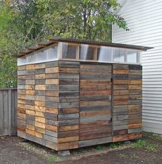 Small Storage Sheds • Ideas  Projects! With lots of Tutorials! Including this cool reclaimed wood diy storage shed from joseph sandy.