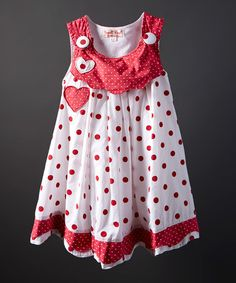 Another great find on #zulily! Violet Red Heart Jumper - Infant, Toddler & Girls #zulilyfinds