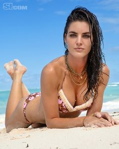 Hilary Rhoda - Sports Illustrated Swimsuit 2011 Location: Peter Island, British Virgin Islands, Peter Island Resort Swimsuit: Swimsuit by Letarte by Lisa Cabrinha Photographed by: Warwick Saint