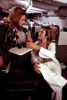 1970/s Airline Stewardess ... Pickup Artist