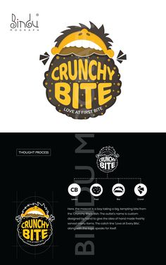 Discover recipes, home ideas, style inspiration and other ideas to try. Food Brand Logos, Food Branding, Logo Food, Food Graphic Design, Food Logo Design, Branding Design, Logo Restaurant, Eat Logo, Logo Online Shop