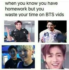 My current situation but its precious time because its BTS....