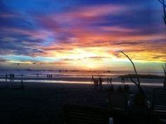 How does soaking in the beautiful Tamarindo sunset sound?