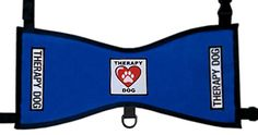 Therapy Dog Heart  Paw Vest  Deluxe Blue Medium 2640 lbs -- Check this awesome product by going to the link at the image. This is an Amazon Affiliate links.