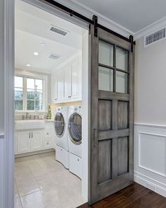 50 Beautiful and Functional Laundry Room Design Ideas Laundry room decor Small laundry room ideas Laundry room makeover Laundry room cabinets Laundry room shelves Laundry closet ideas Pedestals Stairs Shape Renters Boiler Room Makeover, House Design, Room Design, House, Home, New Homes, Laundry Room Inspiration, Room Remodeling, Mudroom Laundry Room