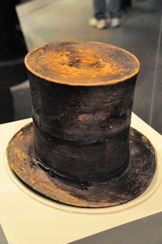 Lincoln's top hat. I got to fetch this from storage for exhibition!