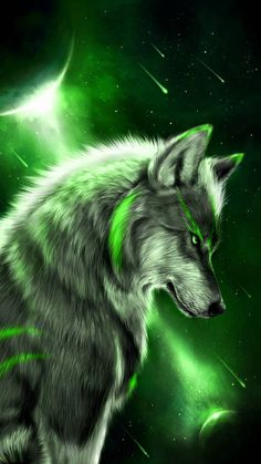 Wolf wallpaper by georgekev - 25 - Free on ZEDGE™ Lion Wallpaper, Animal Wallpaper, Iphone Wallpaper, Fantasy Wolf, Dark Fantasy Art, Anime Wolf, Mythical Creatures Art, Fantasy Creatures, Wolf Spirit