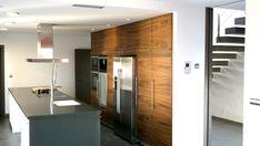 Ideas de Decoracion de Cocina, estilo Contemporaneo diseñado por NUÑO ARQUITECTOS Arquitecto con #Encimeras #Barras de cocina #Islas de cocina  #CajonDeIdeas