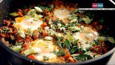 Cucina con Ramsay, ricette: uova alla nordafricana.