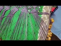 Rematar Un Hilo En El Punto De Tejido 1 - YouTube