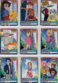 HDJThese are official Digimon Adventure Carddass released in the year 2000 in Japan. Therefore they are all in Japanese. Rare and hard to find. Meant for those hardcore Digimon fans who had missed out collecting these cards or those who wants to relieve the summer of 8/1.  These are set of 36 norm...