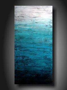 Art painting Jmjartstudio Original Painting 18 X 36 Inches ------- Upstanding