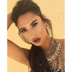 coachella makeup