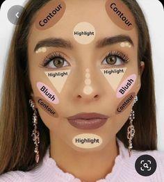 Makeup Eye Looks, Eye Makeup Steps, Eyebrow Makeup, Skin Makeup, Eyeshadow Makeup, Makeup Brushes, Makeup 101, Makeup Ideas, Blue Makeup